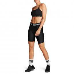 Carly Bike Shorts – Black
