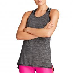 Cassie Loose Logo Strap Tank - Grey