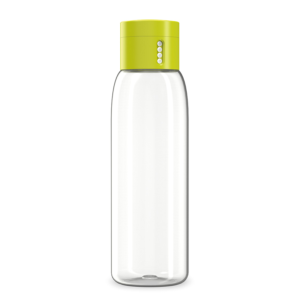 DOT HYDRATION TRACKING WATER BOTTLE 600ML GREEN