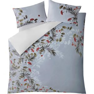 HIGHLAND GREY KING DUVET COVER