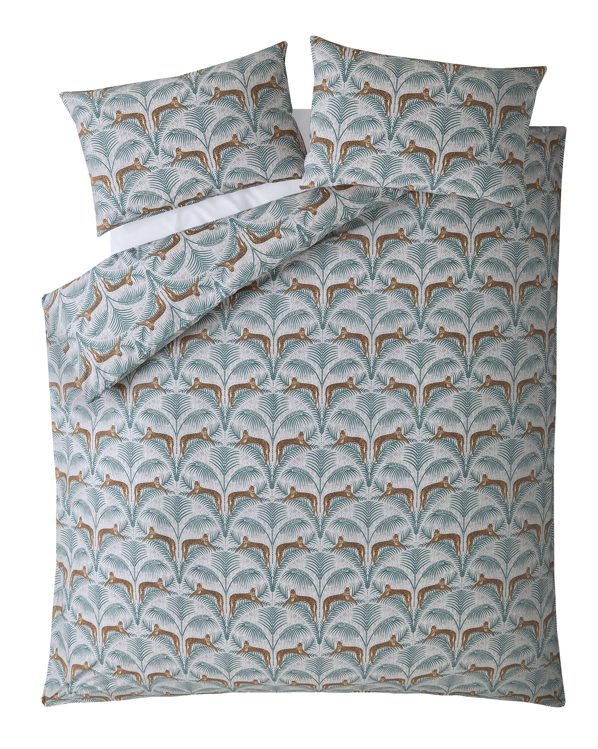 Fat Face Lounging Leopards Pillowcase