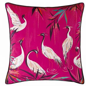HERON PINK CUSHION