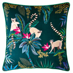 LEMUR DARK GREEN CUSHION