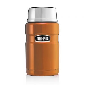 KING FOOD FLASK 710ML COPPER