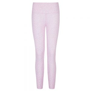 BALLET BLUSH PRINTED 7/8 LENGTH LEGGING  PINK