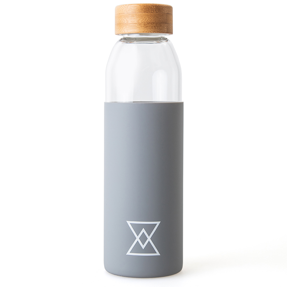 500ML SUSTAINABLE WATER BOTTLE GREY