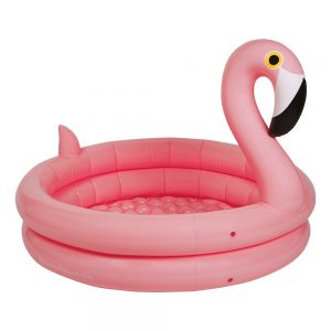 INFLATABLE BACKYARD POOL FLAMINGO