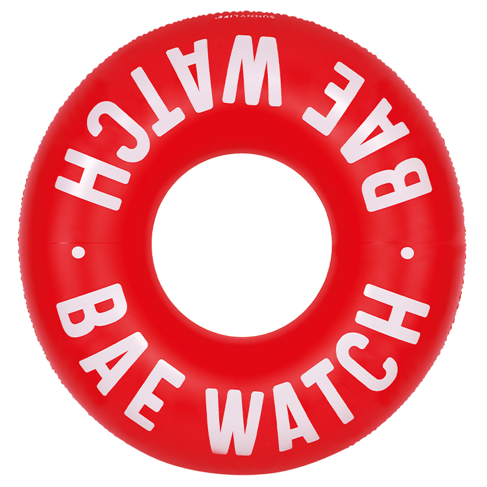POOL RED RING BAE WATCH