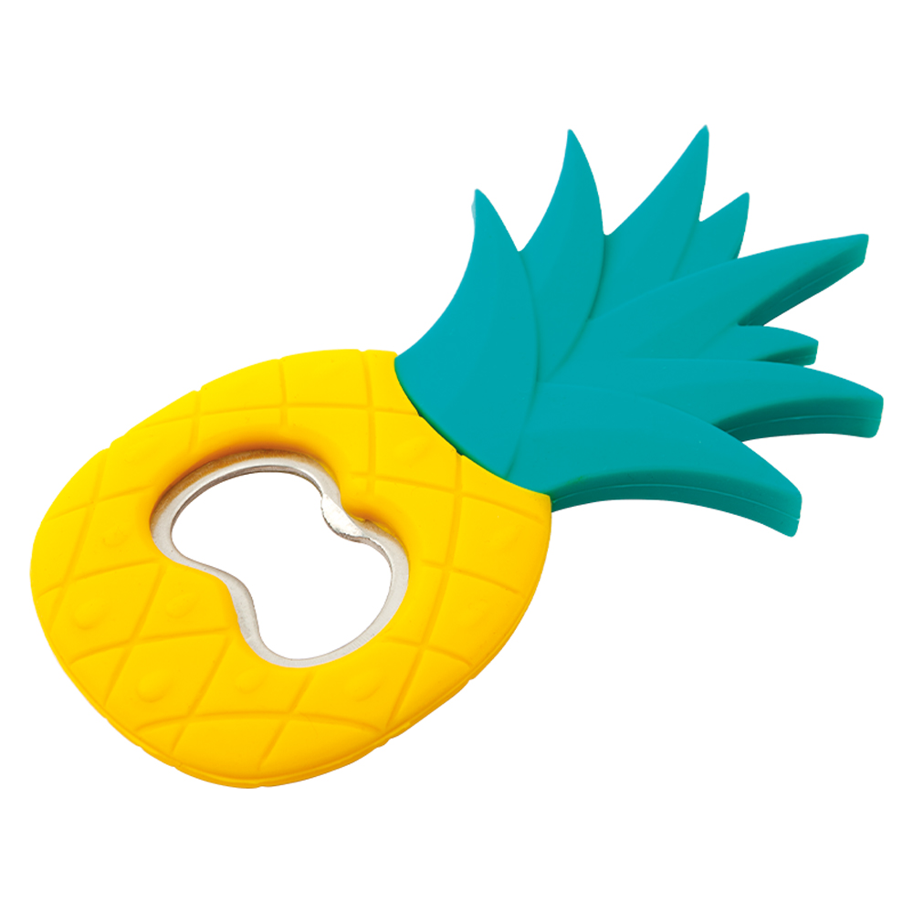 PINEAPPLE SILACONE BOTTLE OPENER