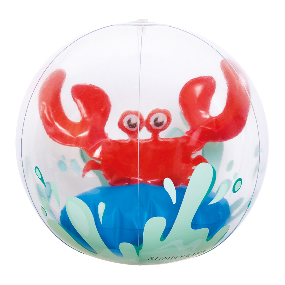 3D INFLATABLE BEACH BALL CRABBY