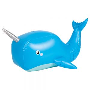 INFLATABLE SPRINKLER NARWHAL WALE