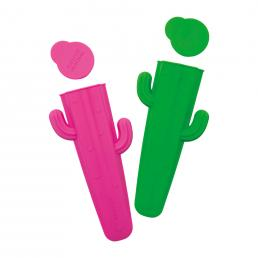CACTUS SHAPED ICY LOLLY MOULDS SET OF 2