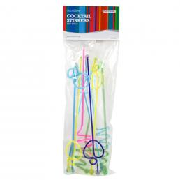 COCKTAIL STIRRERS (SET OF 10) - ASSORTED COLOURS