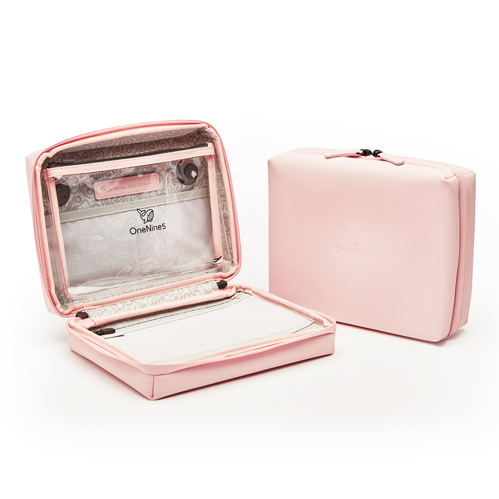 Eco-Conscious Wash Bag - Komodo Pink