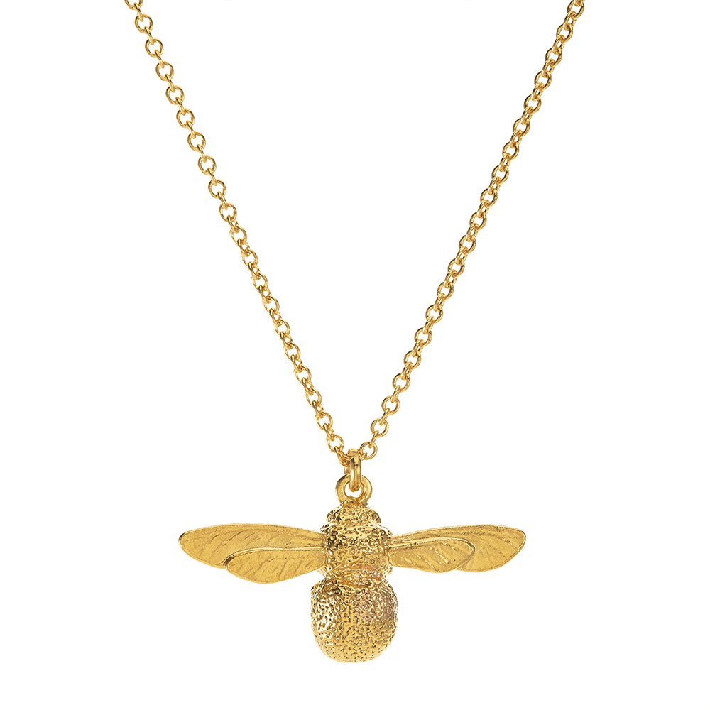 BABY BEE NECKLACE GOLD