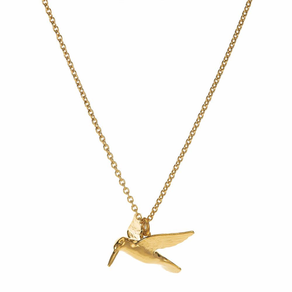 HUMMINGBIRD NECKLACE GOLD