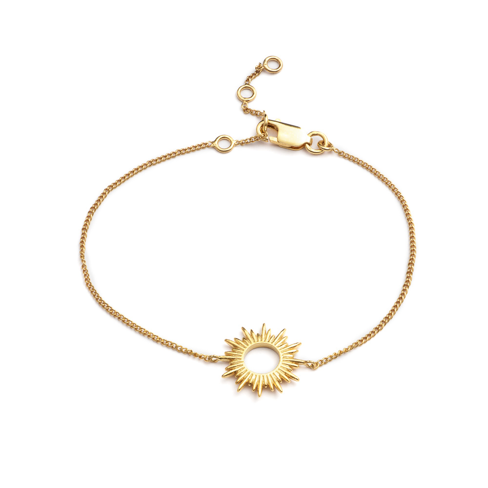SUNRAYS EXTENDABLE BRACELET - GOLD