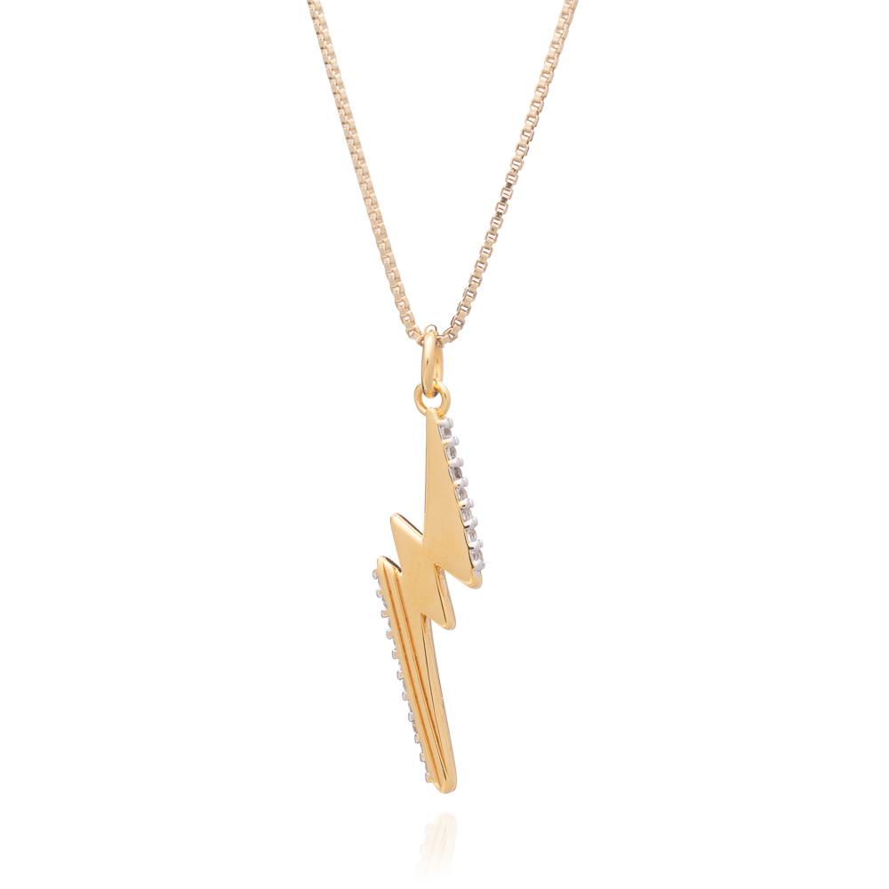 LIGHTNING BOLT NECKLACE - GOLD