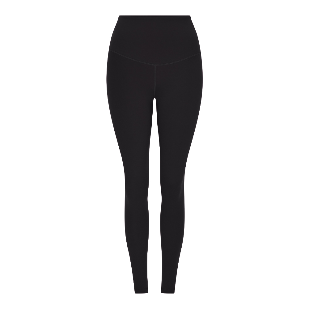 BLACKBURN HIGH WAIST FULL LENGTH LEGGING - BLACK