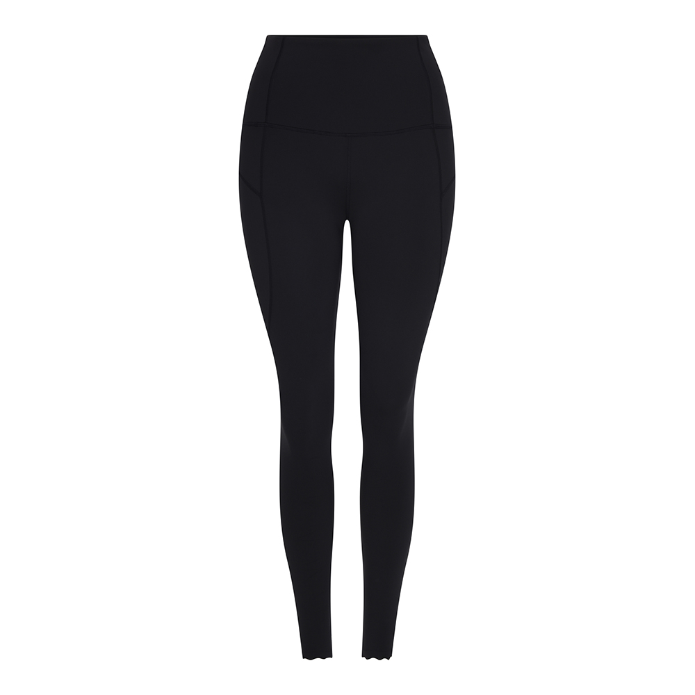 WESLEY HIGH WAIST LEGGING - BLACK