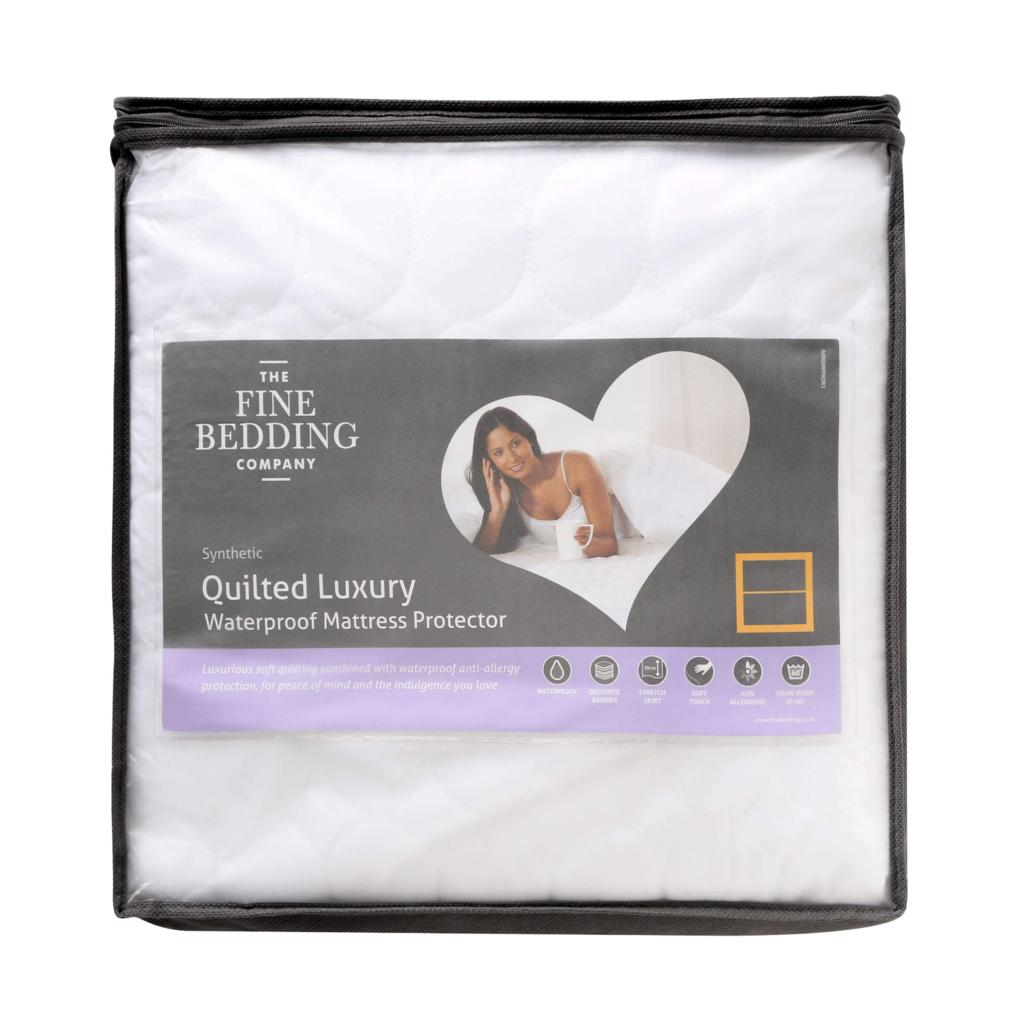 Quilted WaterProof Mattress Protector Double