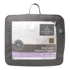 Dual Layer Mattress Topper Single