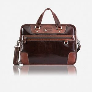 "Oxford Medium 15"" Laptop Briefcase - Tobacco"