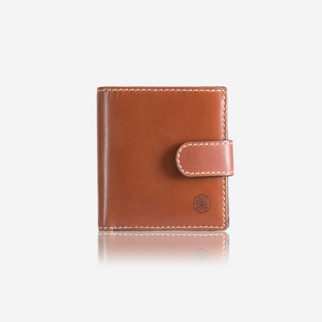 Texas Wallet with Coin Pouch and Tab - Clay