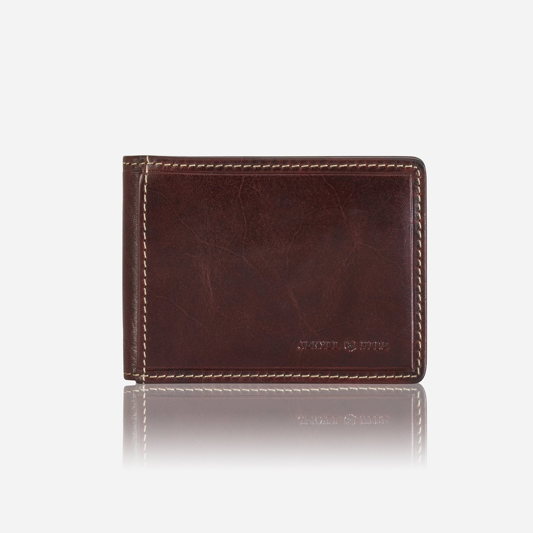 Oxford Slim Card Holder - Coffee
