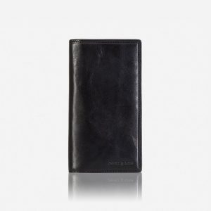 Oxford Large Travel And Mobile Wallet - Black