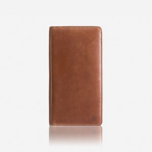 Texas Large Zip-Around Travel And Passport Organiser - Clay