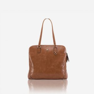 "Chelsea Large Ladies 15"" Laptop Shopper - Tan"