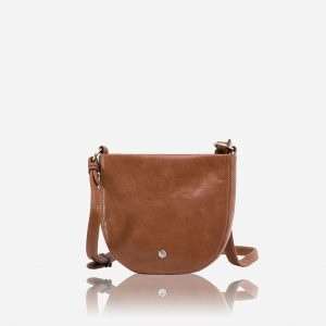 Chelsea Small Cross-Body Bag - Tan
