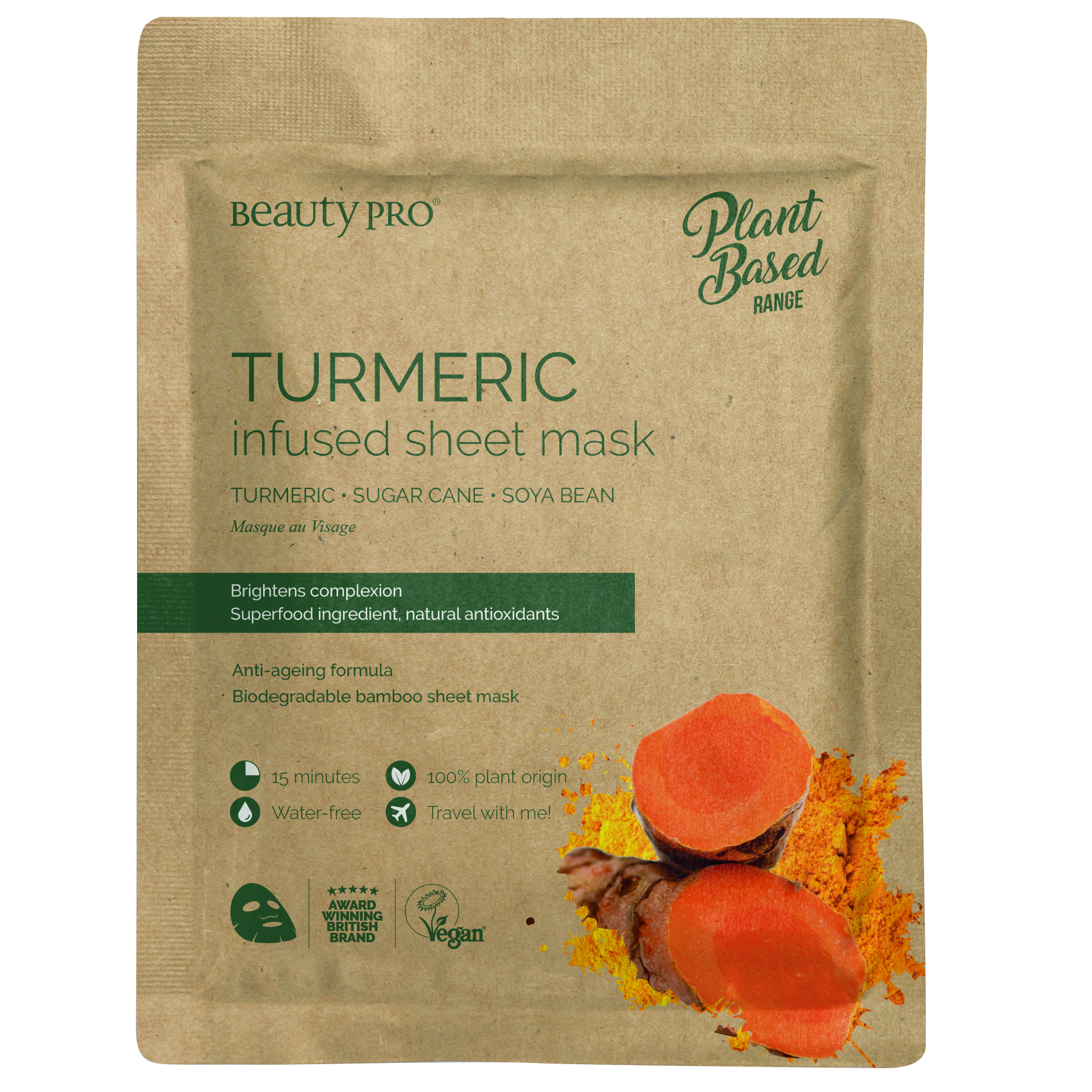 TUMERIC Infused Sheet Mask 22ml
