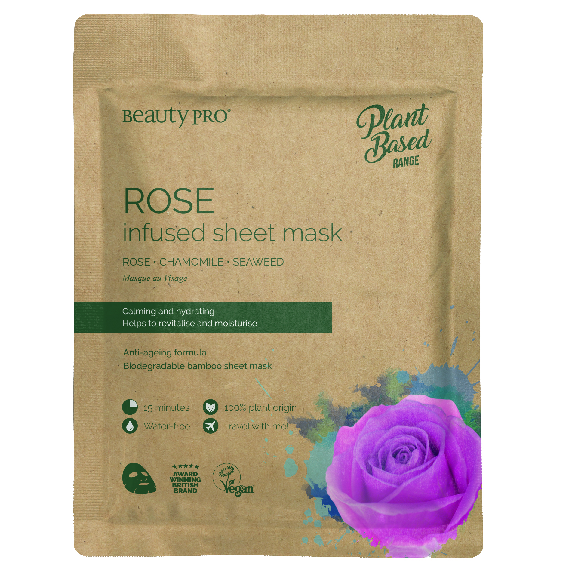 ROSE INFUSED Sheet Mask  22ml