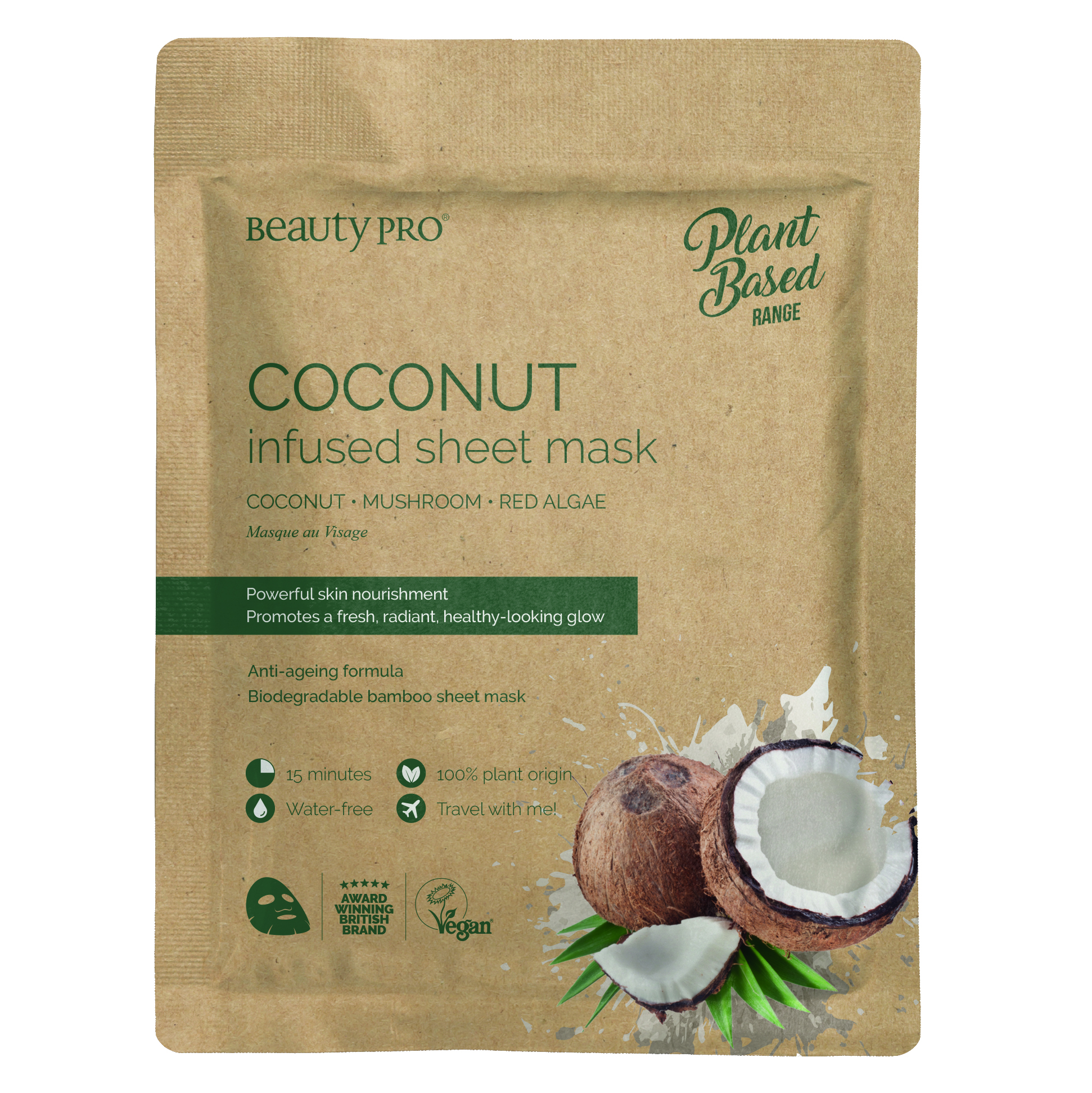 COCONUT INFUSED Sheet Mask 22ml