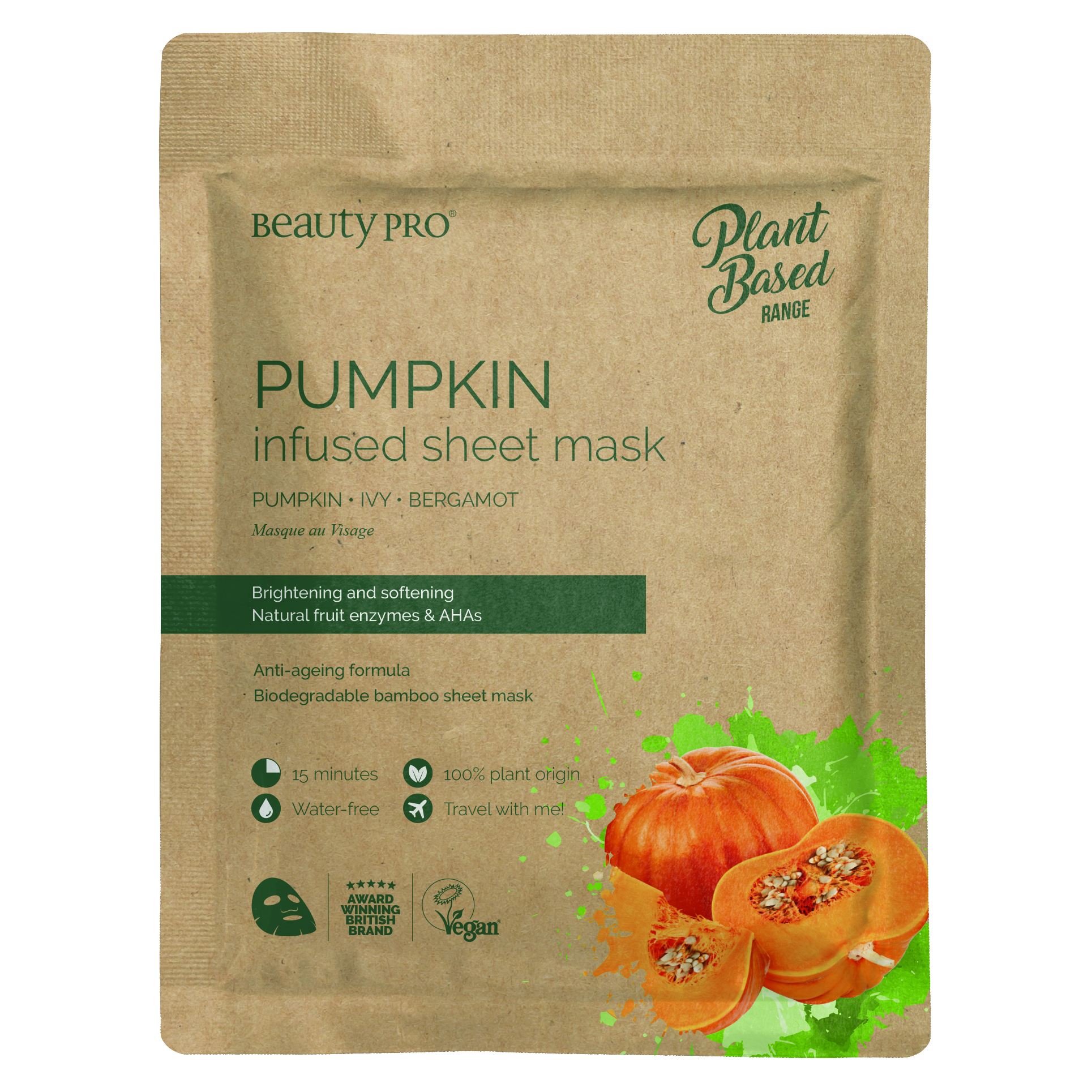 PUMPKIN INFUSED Sheet Mask  22ml