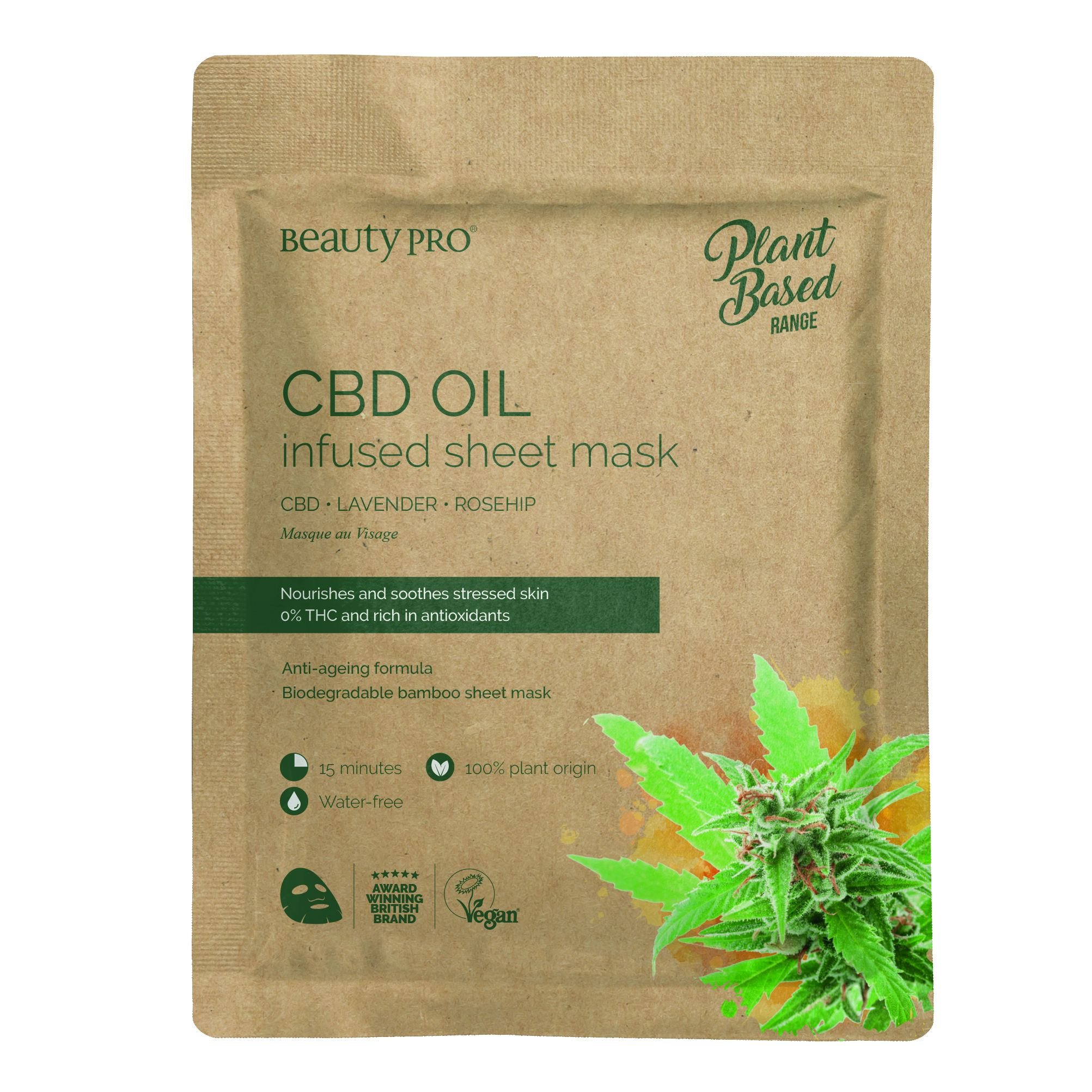 CDB OIL INFUSED Sheet Mask  22ml