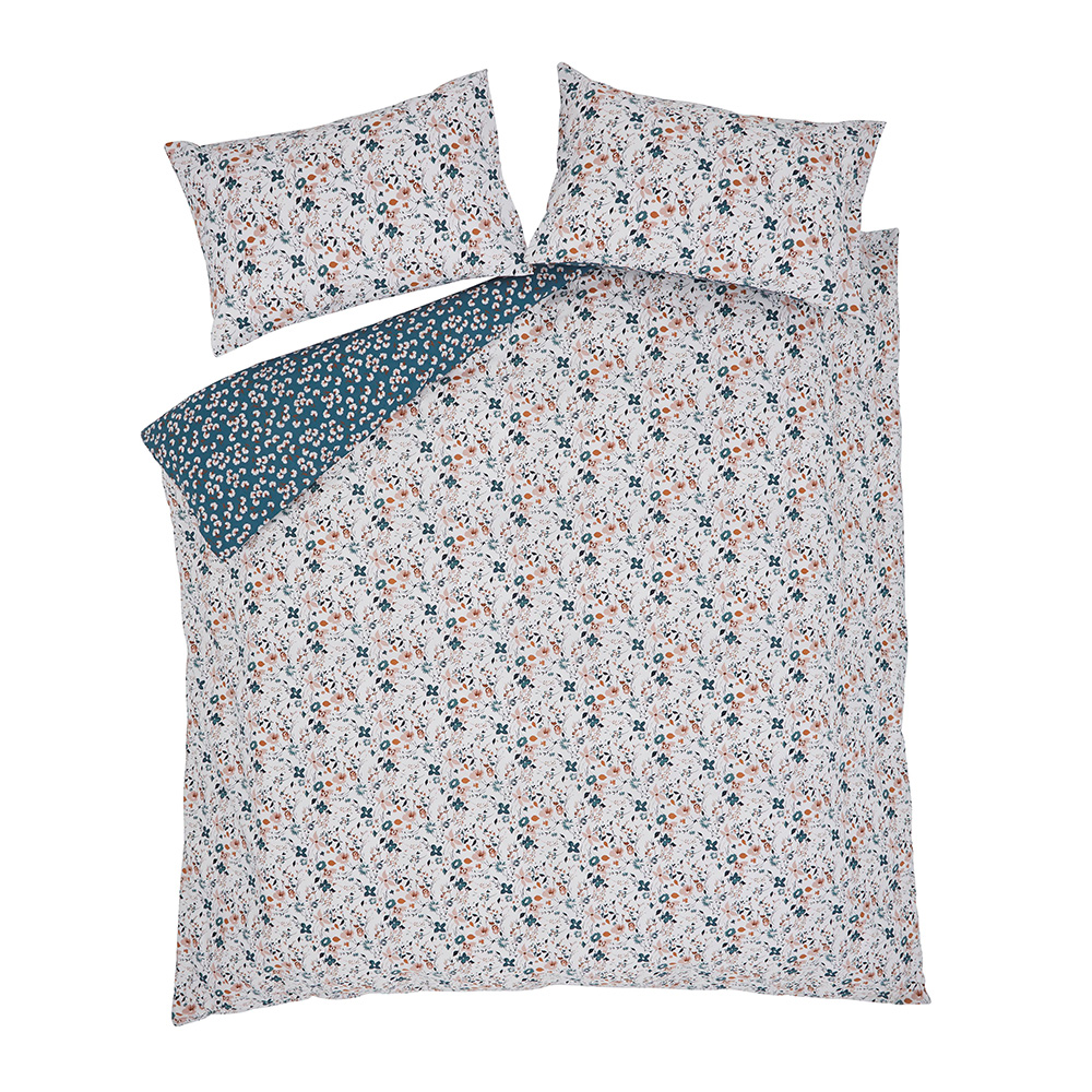 FLOATING BLOOMS DOUBLE QUILT SET