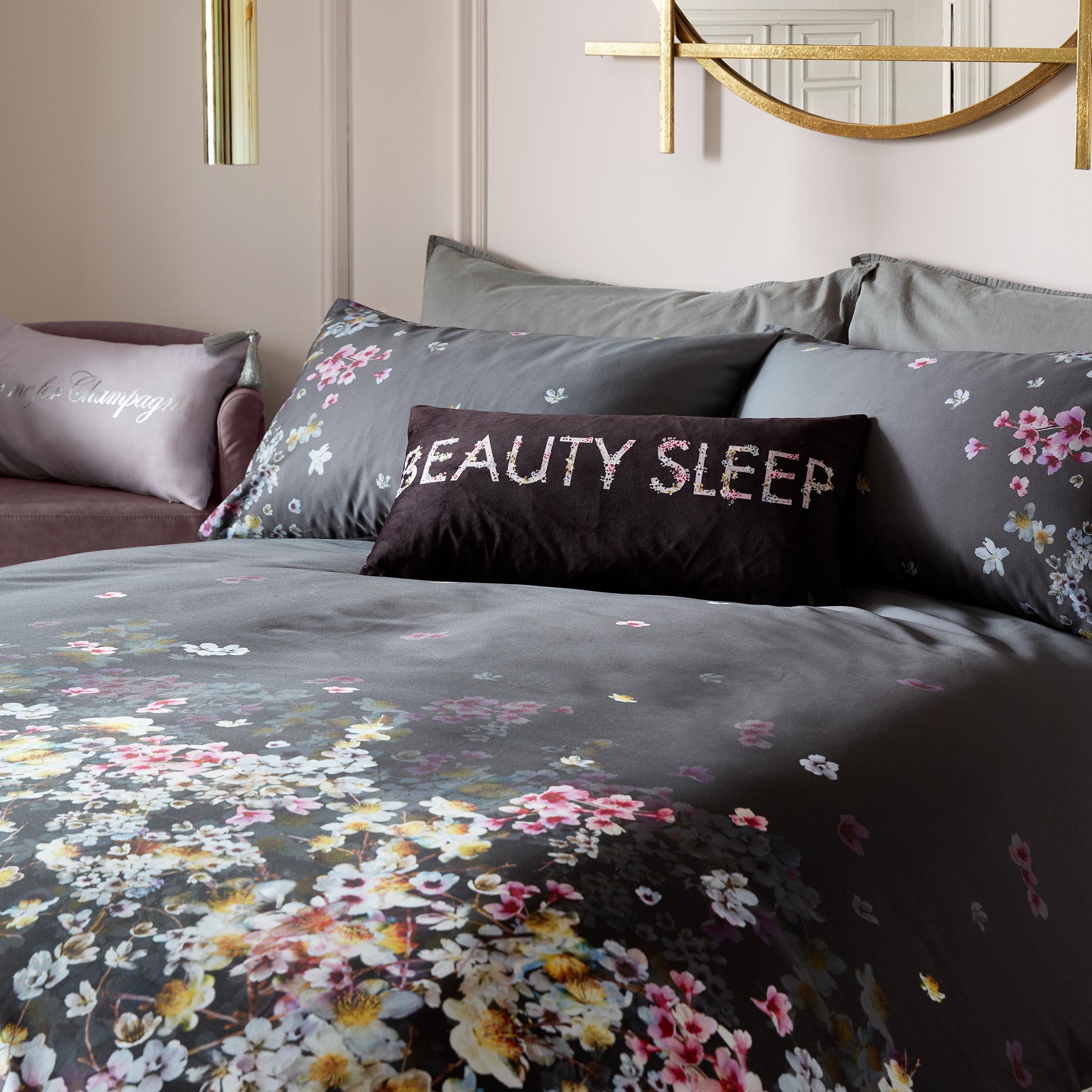 BEAUTY SLEEP LIQUORICE CUSHION 30x60cm