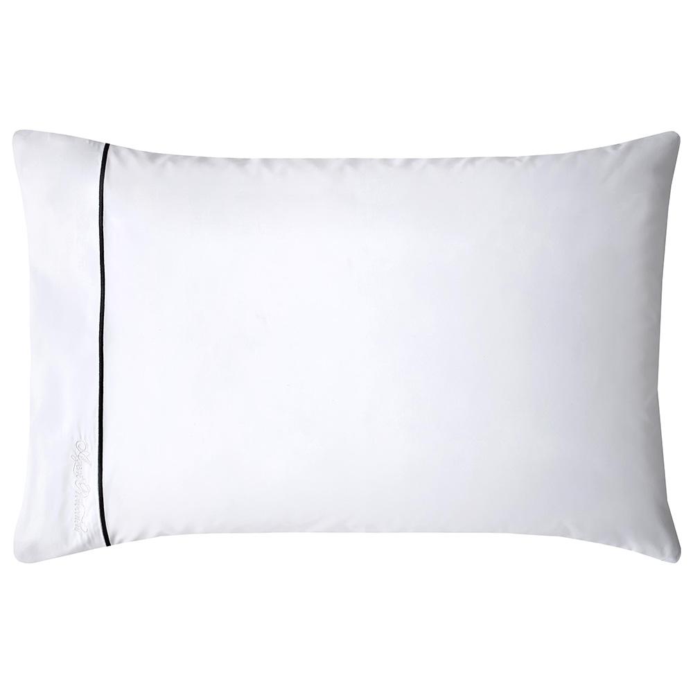 LUCIEN STANDARD PILLOWCASE PAIR - WHITE