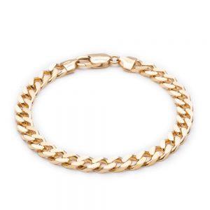 Boyfriend Curb Chain Bracelet - GOLD
