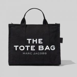 The Small Traveler Tote Bag - Black