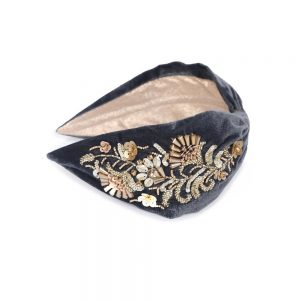 SEQUIN DECO HEADBAND - GOLD