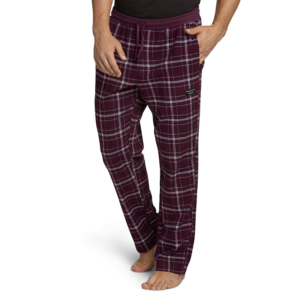 BIG CHECK PERCY PYJAMA PANT - Winetasting
