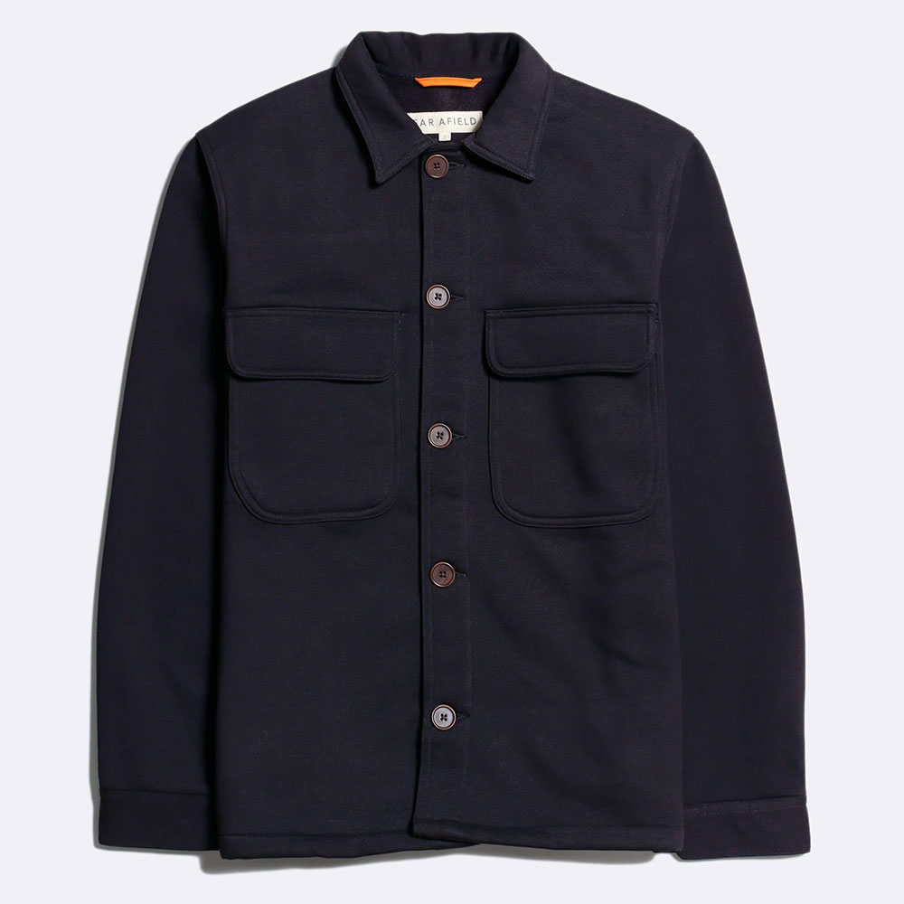 Normsk Jacket Fleece - Navy