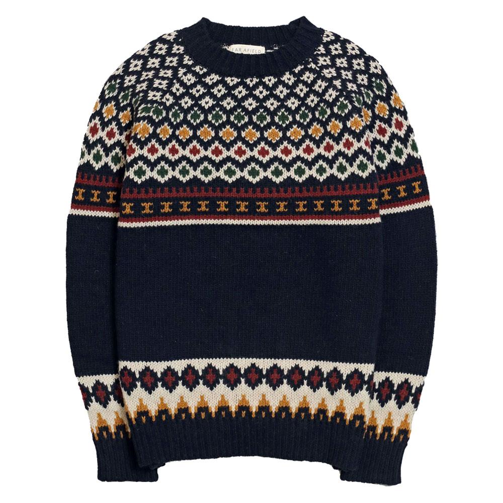 Maurice Knit Fine Wool Mix - Multi