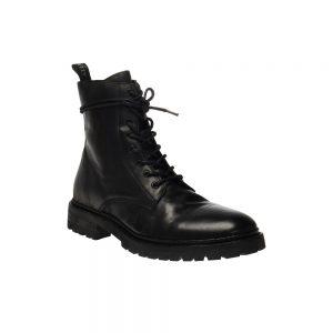TOBIAS LEATHER BOOTS - BLACK