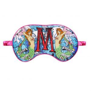 "Silk Eye Mask / ""M for Mermaids"""