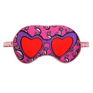 """Silk Eye Mask / """"S for Sunglasses"""""""